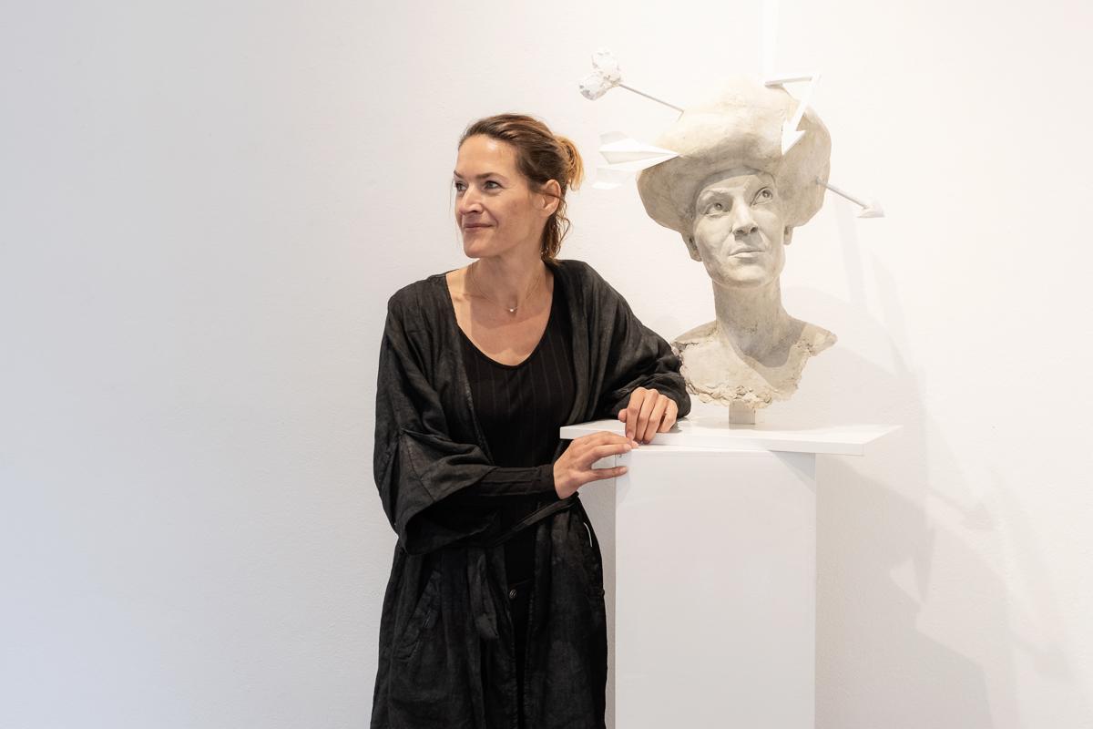 Christine Perseis Bildhauerei