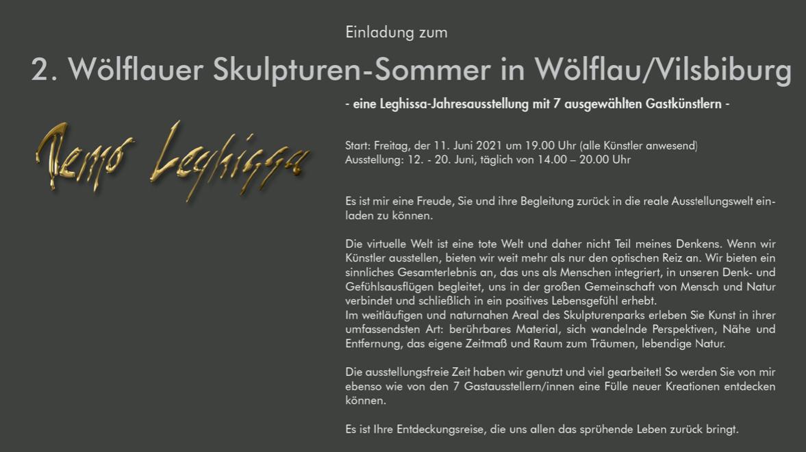 2. Wölflauer Skulpturen-Sommer